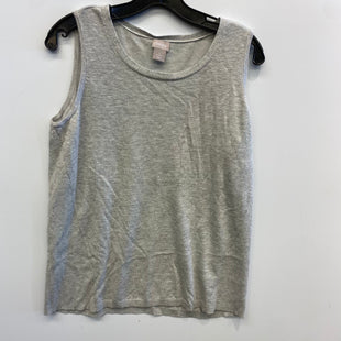 Primary Photo - BRAND: CHICOS STYLE: TOP SLEEVELESS COLOR: GREY SIZE: M SKU: 205-205318-3947