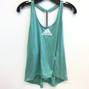 Primary Photo - BRAND: ADIDAS STYLE: ATHLETIC TANK TOP COLOR: WHITE GREEN SIZE: XL SKU: 205-205250-77890