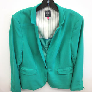 Primary Photo - BRAND: VINCE CAMUTO STYLE: BLAZER JACKET COLOR: GREEN SIZE: 14 SKU: 205-205250-62072
