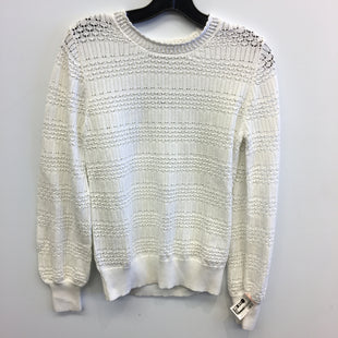 Primary Photo - BRAND: ANN TAYLOR LOFT STYLE: SWEATER LIGHTWEIGHT COLOR: WHITE SIZE: M SKU: 205-205250-76810