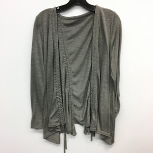 Primary Photo - BRAND:    CLOTHES MENTOR STYLE: SWEATER CARDIGAN LIGHTWEIGHT COLOR: GREY SIZE: L SKU: 205-205250-75426
