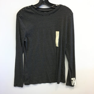 Primary Photo - BRAND: UNIVERSAL THREAD STYLE: TOP LONG SLEEVE BASIC COLOR: STRIPED SIZE: L SKU: 205-205250-77448