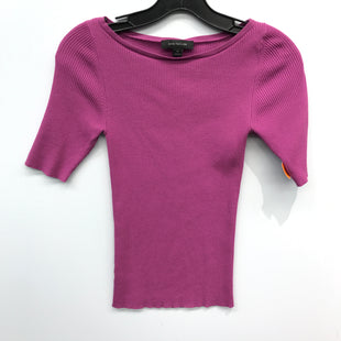 Primary Photo - BRAND: ANN TAYLOR STYLE: TOP SHORT SLEEVE COLOR: PURPLE SIZE: XS SKU: 205-205250-75685