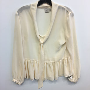Primary Photo - BRAND: ASOS STYLE: TOP LONG SLEEVE COLOR: CREAM SIZE: 10 SKU: 205-205318-3853