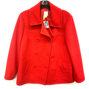 Primary Photo - BRAND: J JILL STYLE: COAT SHORT COLOR: RED SIZE: S SKU: 205-205299-16892