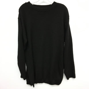 Primary Photo - BRAND: BOOHOO BOUTIQUE STYLE: SWEATER LIGHTWEIGHT COLOR: BLACK SIZE: 2X SKU: 205-205318-3188