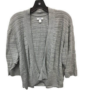 Primary Photo - BRAND: CROFT AND BARROW STYLE: SWEATER CARDIGAN LIGHTWEIGHT COLOR: GREY SIZE: 2X SKU: 205-205250-73594