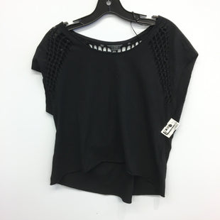 Primary Photo - BRAND: GUESS STYLE: TOP SHORT SLEEVE COLOR: BLACK SIZE: XS SKU: 205-205318-3893