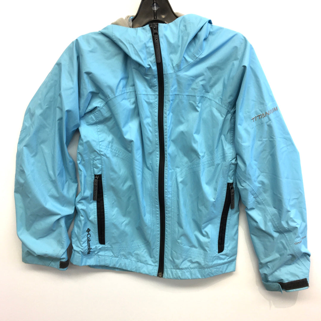 Primary Photo - BRAND: COLUMBIA <BR>STYLE: JACKET OUTDOOR <BR>COLOR: BLUE <BR>SIZE: XL <BR>OTHER INFO: AS IS <BR>SKU: 205-205250-40794