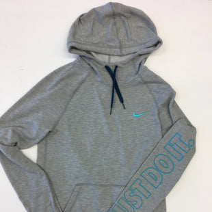 Primary Photo - BRAND: NIKE STYLE: SWEATSHIRT HOODIE COLOR: GREY SIZE: XS OTHER INFO: AS IS SKU: 205-205250-51991