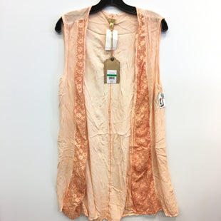 Primary Photo - BRAND: TRUE CRAFT STYLE: COVERUP COLOR: ORANGE SIZE: L SKU: 205-205250-77680