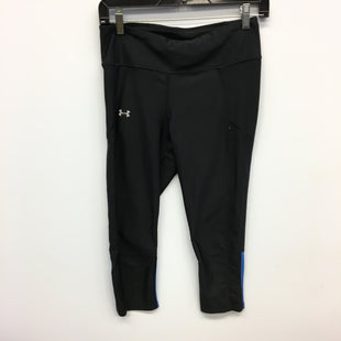 Primary Photo - BRAND: UNDER ARMOUR STYLE: ATHLETIC CAPRIS COLOR: BLACK SIZE: M SKU: 205-205280-16376