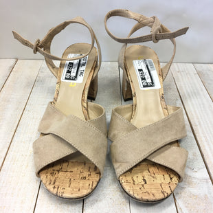 Primary Photo - BRAND: UNISA STYLE: SANDALS HIGH COLOR: TAN SIZE: 8.5 SKU: 205-205299-13998