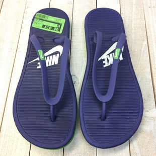 Primary Photo - BRAND: NIKE STYLE: FLIP FLOPS COLOR: PURPLE SIZE: 8 SKU: 205-205250-77333