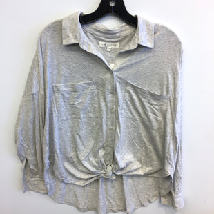 Primary Photo - BRAND: LOU AND GREY STYLE: TOP LONG SLEEVE COLOR: GREY SIZE: M SKU: 205-205318-3476