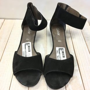 Primary Photo - BRAND:    CLOTHES MENTOR STYLE: SANDALS LOW COLOR: BLACK SIZE: 6.5 OTHER INFO: GABOR - SKU: 205-205299-13997