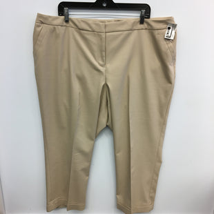 Primary Photo - BRAND: LANE BRYANT STYLE: PANTS COLOR: BROWN SIZE: 22 SKU: 205-205250-68592