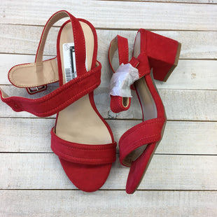 Primary Photo - BRAND: WILD DIVA STYLE: SANDALS LOW COLOR: RED SIZE: 6.5 SKU: 205-205250-64617