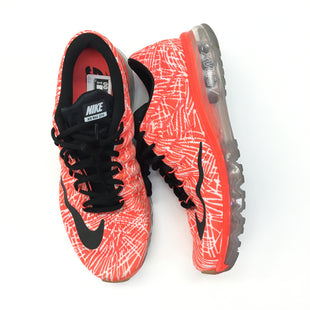 Primary Photo - BRAND: NIKE STYLE: SHOES ATHLETIC COLOR: ORANGE BLACK SIZE: 12 SKU: 205-205299-16507