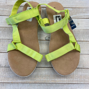 Primary Photo - BRAND: TORRID STYLE: SANDALS FLAT COLOR: NEON SIZE: 10.5 SKU: 205-205299-14816