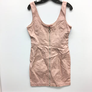 Primary Photo - BRAND: GUESS STYLE: DRESS SHORT SLEEVELESS COLOR: DENIM PINK SIZE: S SKU: 205-205250-71226