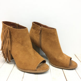 Primary Photo - BRAND: EXPRESS STYLE: BOOTS ANKLE COLOR: BROWN SIZE: 10 SKU: 205-205250-48721