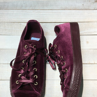 Primary Photo - BRAND: CONVERSE STYLE: SHOES ATHLETIC COLOR: VELVET SIZE: 7.5 OTHER INFO: 5 JUNIOR SKU: 205-205250-67933