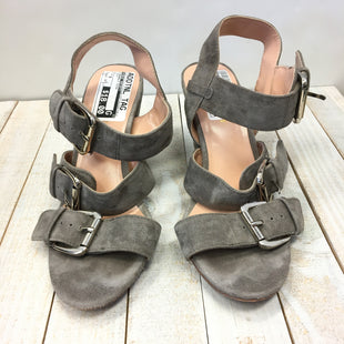 Primary Photo - BRAND: SOLE SOCIETY STYLE: SANDALS HIGH COLOR: GREY SIZE: 6 SKU: 205-205250-61976