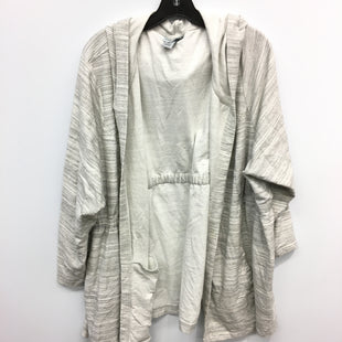 Primary Photo - BRAND: CATHERINES STYLE: SWEATER CARDIGAN LIGHTWEIGHT COLOR: GREY SIZE: 4X SKU: 205-205330-4