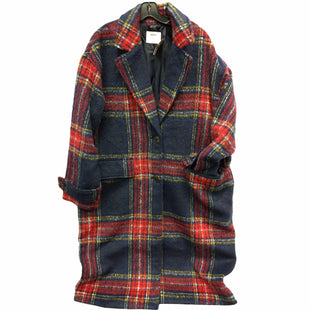 Primary Photo - BRAND: OLD NAVY STYLE: COAT LONG COLOR: PLAID SIZE: XL SKU: 205-205250-72946