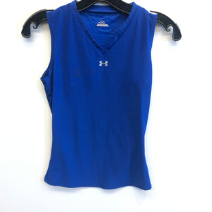 Primary Photo - BRAND: UNDER ARMOUR STYLE: ATHLETIC TANK TOP COLOR: BLUE SIZE: M SKU: 205-205299-12944