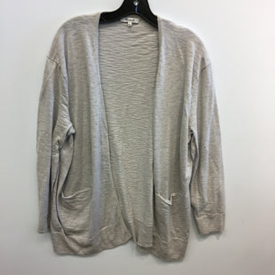 Primary Photo - BRAND: MADEWELL STYLE: SWEATER CARDIGAN LIGHTWEIGHT COLOR: GREY SIZE: XL SKU: 205-205250-78030