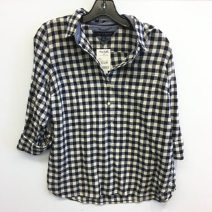 Primary Photo - BRAND: TOMMY HILFIGER STYLE: TOP LONG SLEEVE COLOR: GINGHAM SIZE: M SKU: 205-205318-3860
