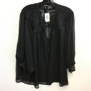 Primary Photo - BRAND: TORRID STYLE: TOP LONG SLEEVE COLOR: BLACK SIZE: 1X SKU: 205-205250-77781