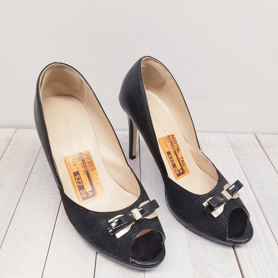 Primary Photo - BRAND: MARC FISHER<BR>STYLE: SHOES HIGH HEEL<BR>COLOR: BLACK<BR>SIZE: 7.5<BR>SKU: 205-205250-57224