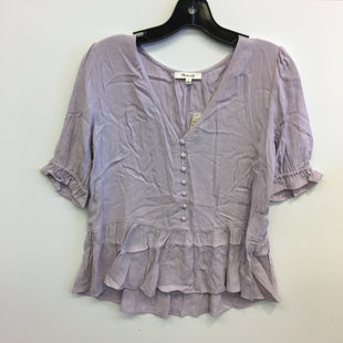 Primary Photo - BRAND: MADEWELL STYLE: TOP SHORT SLEEVE COLOR: LAVENDER SIZE: S SKU: 205-205250-75889