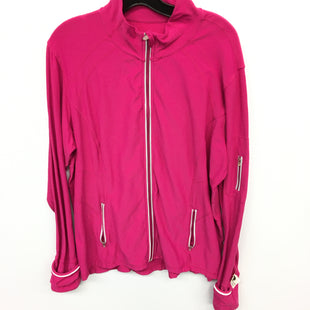 Primary Photo - BRAND: KIRKLAND STYLE: ATHLETIC JACKET COLOR: PINK SIZE: 3X SKU: 205-205250-57867