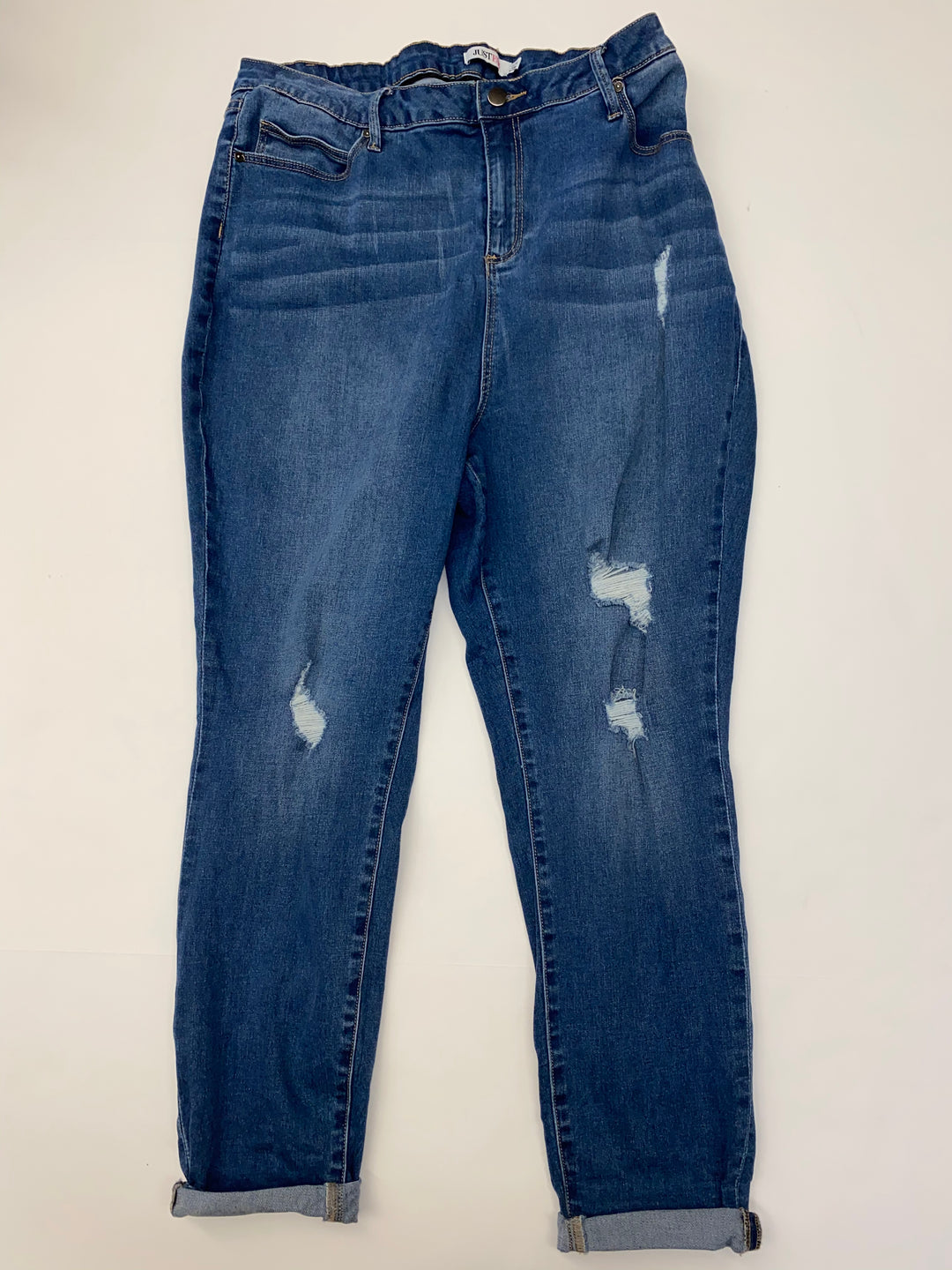 Primary Photo - BRAND: JUST FAB<BR>STYLE: JEANS<BR>COLOR: DENIM<BR>SIZE: 20<BR>SKU: 205-205280-17279