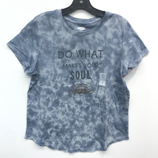Primary Photo - BRAND: OLD NAVY STYLE: TOP SHORT SLEEVE COLOR: TIE DYE SIZE: L SKU: 205-205250-74237