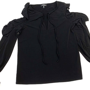Primary Photo - BRAND: EXPRESS STYLE: TOP LONG SLEEVE COLOR: BLACK SIZE: S SKU: 205-205250-60140