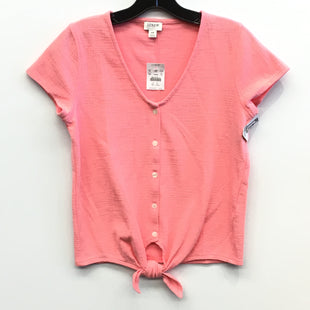 Primary Photo - BRAND: J CREW O STYLE: TOP SHORT SLEEVE COLOR: PINK SIZE: XS SKU: 205-205318-1403
