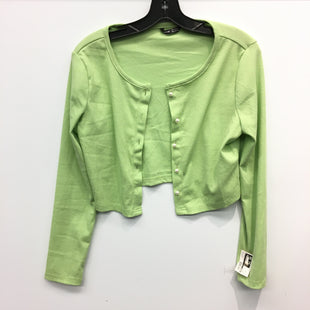 Primary Photo - BRAND: SHEIN STYLE: SWEATER CARDIGAN LIGHTWEIGHT COLOR: GREEN SIZE: M SKU: 205-205250-75218