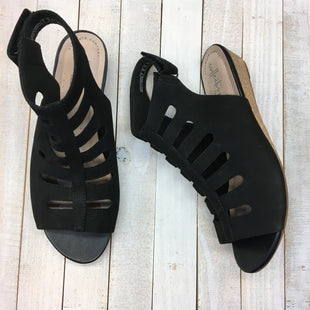 Primary Photo - BRAND: CLARKS STYLE: SANDALS LOW COLOR: BLACK SIZE: 8.5 SKU: 205-205250-76672