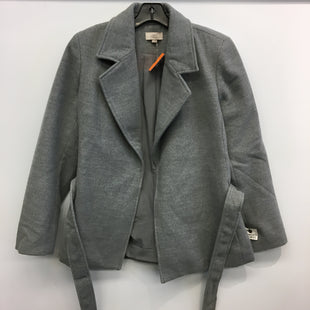 Primary Photo - BRAND: ANN TAYLOR LOFT O STYLE: COAT SHORT COLOR: GREY SIZE: M SKU: 205-205250-73435