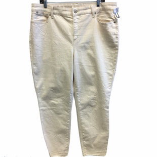 Primary Photo - BRAND: TALBOTS STYLE: PANTS COLOR: CREAM SIZE: 16 SKU: 205-205318-1517