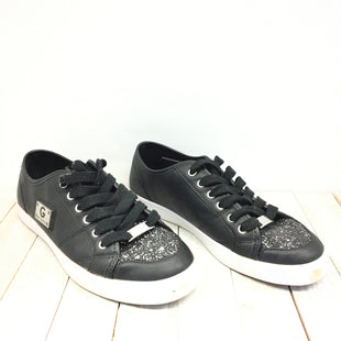 Primary Photo - BRAND: GUESS STYLE: SHOES ATHLETIC COLOR: BLACK SILVER SIZE: 7 SKU: 205-205299-12538
