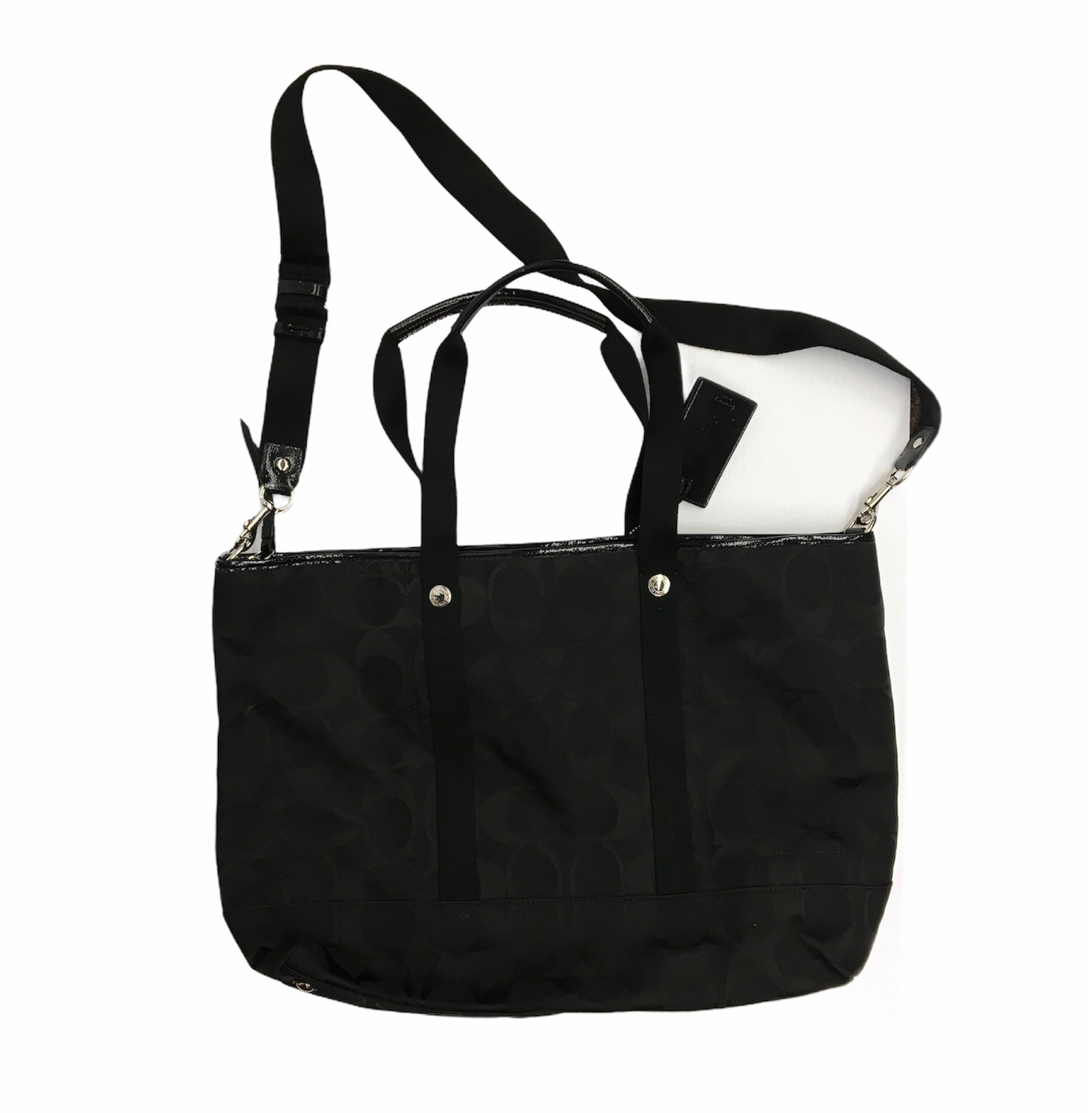 Photo #1 - BRAND: COACH <BR>STYLE: HANDBAG DESIGNER <BR>COLOR: BLACK <BR>SIZE: LARGE <BR>OTHER INFO: DESIGNER <BR>SKU: 205-205250-77727