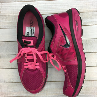 Primary Photo - BRAND: NIKE STYLE: SHOES ATHLETIC COLOR: PINKBLACK SIZE: 10 SKU: 205-205299-8464