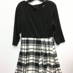 Primary Photo - BRAND:    CLOTHES MENTOR STYLE: DRESS SHORT LONG SLEEVE COLOR: BLACK WHITE SIZE: XL OTHER INFO: OXIULY FASHION - SKU: 205-205250-70691