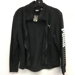 Primary Photo - BRAND: PUMA STYLE: JACKET OUTDOOR COLOR: BLACK SIZE: L SKU: 205-205250-70178